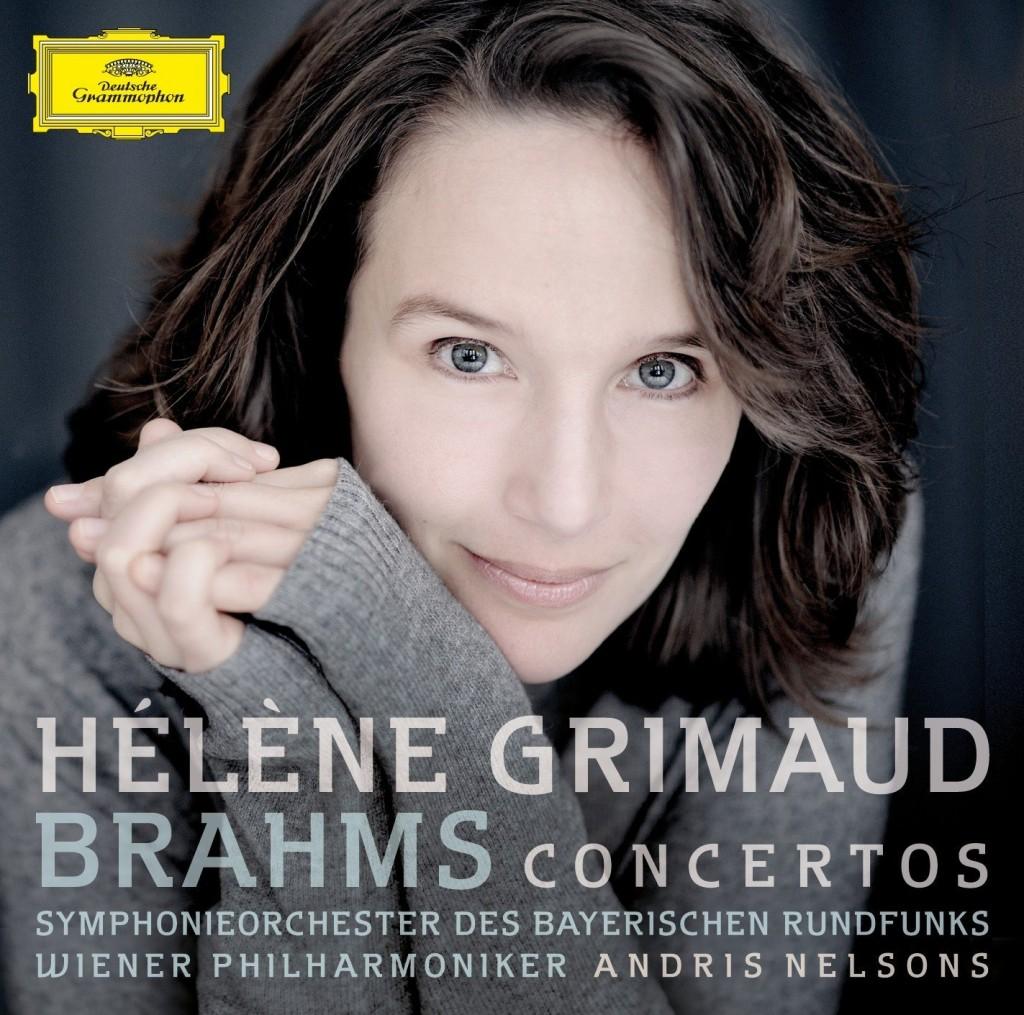 Hélène Grimaud Brahms Concertos Symphonieorchester des Bayerischen Rundfunks Wiener Philharmoniker Leitung: Andris Nelsons Deutsche Grammophon 17 Euro