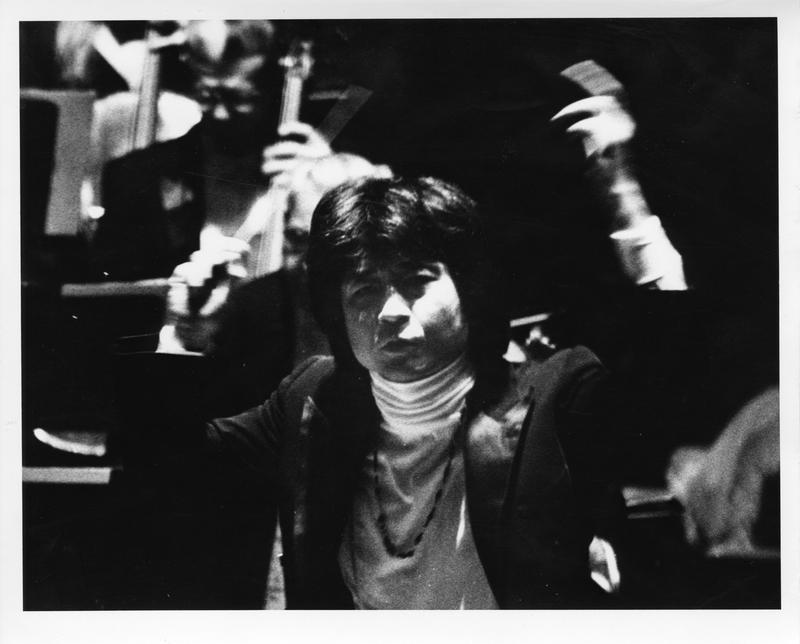 Seiji Ozawa @ the Boston Symphony Orchestra, April 5, 1975
