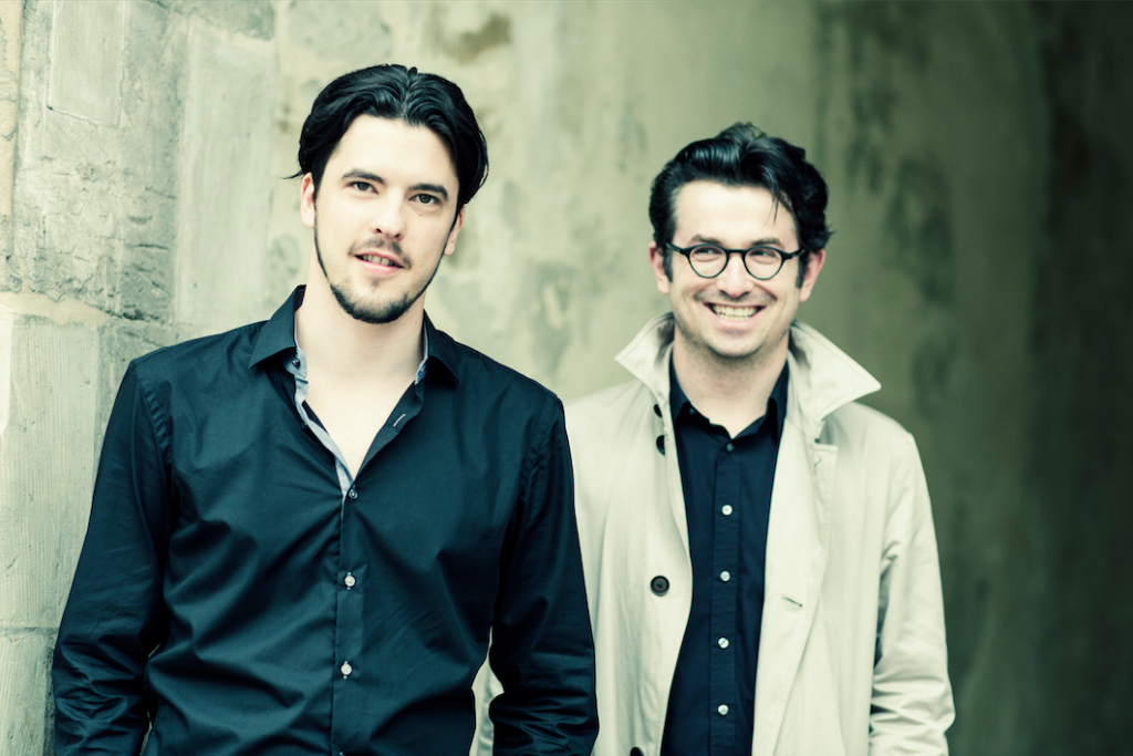Andrè Schuen und Daniel Heide (Foto: Guido Werner)