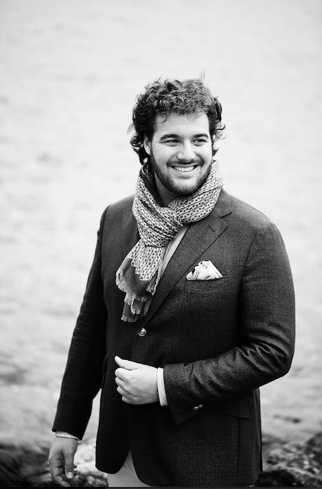 Mit jugendlichem Elan und einer guten Portion Übermut: Maure Peter singt Schubert.